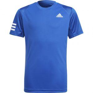 adidas Club 3-Stripes Boys' Tennis T-Shirt H34768