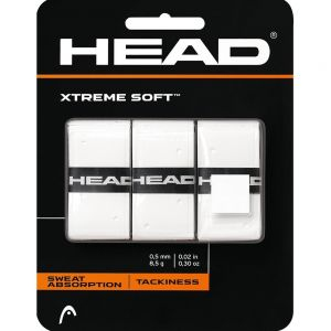 Head Extreme Soft Overgrips white (3 overgrips)