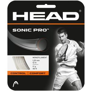 Head Sonic Pro Tennis String (12m) 281028-WH