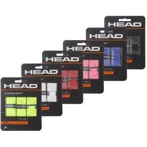 Head Extreme Soft Tennis Overgrips x 3 285104