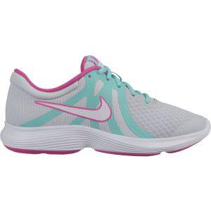 Nike Revolution 4 Aqua Girl's Running Shoes (GS) AV5131-001