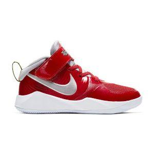 Nike Team Hustle D 9 Auto Boy's Basketball Shoes (PS) CQ4278-600