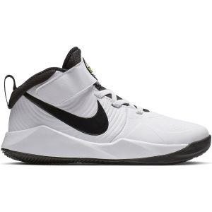Nike Team Hustle D 9 Boy's Basketball Shoes (PS) AQ4225-100