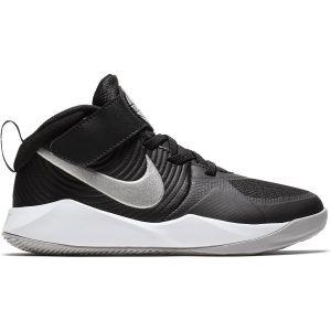 Nike Team Hustle D 9 Boy's Basketball Shoes (PS) AQ4225-001