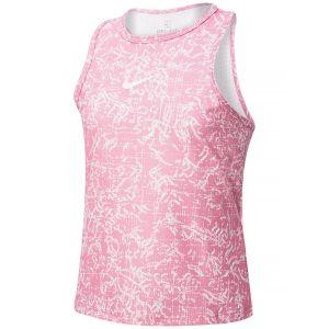 NikeCourt Dri-FIT Victory Girls' Printed Tennis Tank