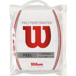 Wilson Pro Overgrips Perforated x 12 WRZ4006