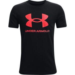 Under Armour Boys' Sportstyle Logo Short Sleeve 1363282-002
