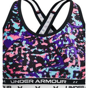 Under Armour Girls' Crossback Printed Sports Bra 1364630-002