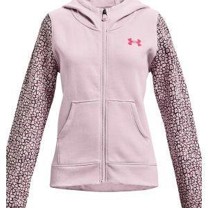 Under Armour Girls' Rival Fleece Full-Zip 1366045-684