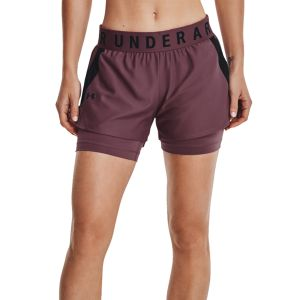 Under Armour Play Up 2 in 1 Women's Shorts 1351981-554