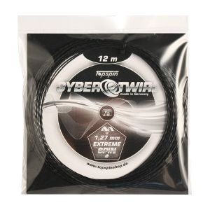Topspin Cyber Twirl Tennis String (1.27mm, 12m) TOSSCTW12N