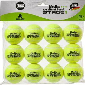 Topspin Unlimited Stage 1 Tournament Junior Tennis Balls x12 TOBUST1T12ER