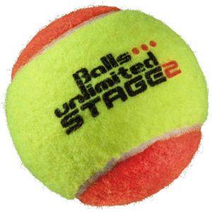 Topspin Unlimited Stage 2 Junior Tennis Balls x 1 TOBUST1ER