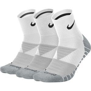 Nike Dry Cushion Unisex Quarter Training Socks x 3