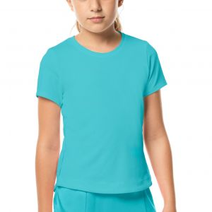 Lucky In Love Dynamic High-Low Girls' T-Shirt  T188-410