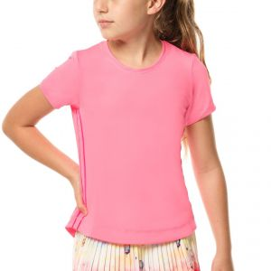 Lucky In Love Dynamic High-Low Girls' T-Shirt  T188-648