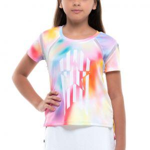Lucky In Love Techno Star Girls' T-Shirt  T224-E82675