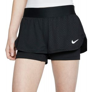 NikeCourt Flex Girls' Tennis Shorts CJ0948-010