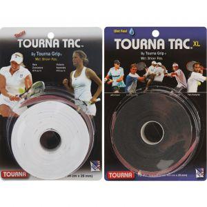 Tourna Tac Tennis Overgrips XL x 10 U-TG-2-10XLW
