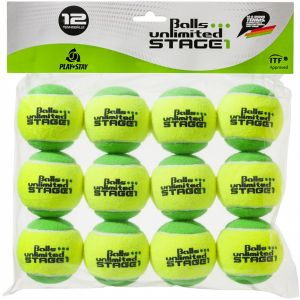 Topspin Unlimited Stage 1 junior Tennis Balls x 12 TOBUST112ER