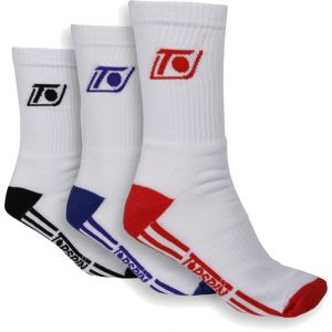 Topspin Crew Sport Socks - set of 3 TOCSS3PM