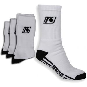 Topspin Crew Sport Socks - set of 3 TOCSS3PW