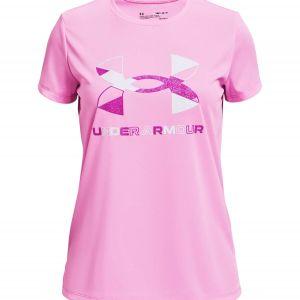 Under Armour Tech Graphic Big Logo Girls' T-Shirt 1363384-638