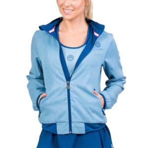 Bidi Badu Gene Jeans Tech Women's Tennis Jacket W194017211-JNSDBL
