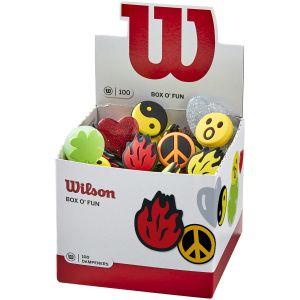 Wilson Box O' Fun Collection Dampeners x 100