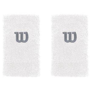 Wilson Extra Wide Tennis Wristbands x 2 WRA733516