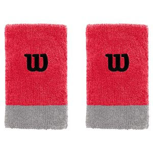Wilson Extra Wide Tennis Wristbands x 2 WRA733520