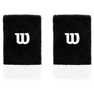 Wilson Extra Wide Tennis Wristbands x 2 WRA733519