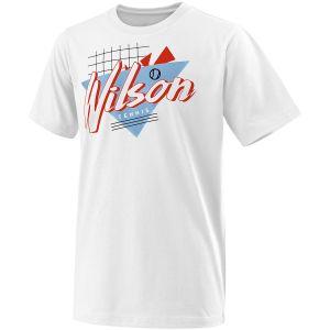 Wilson Nostalgia Tech Boy's Tennis T-Shirt WRA782001