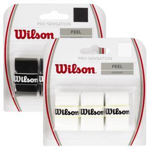 Wilson Pro Overgrips Sensation x 3 WRZ4010