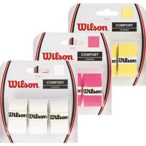 Wilson Pro Overgrips x 3 WRZ4014