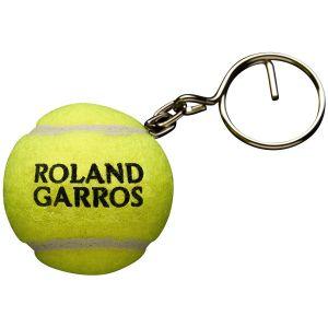 Wilson Roland Garros Tennis Ball Keychain WR8401401