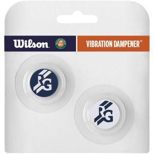 Wilson Roland Garros Vibra Logo Dampeners x 2