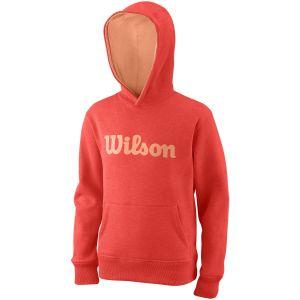 Wilson Team Script Cotton Junior Hoodie WRA769214