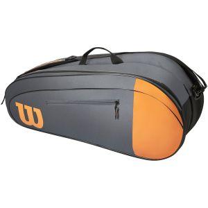 Wilson Burn Team 6-Pack Tennis Bag WR8009801