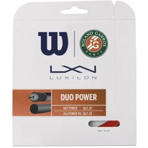 Wilson Duo Power Roland Garros Tennis String (12.2 m)