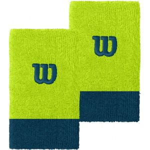 Wilson Extra Wide Tennis Wristbands x 2 WRA733525