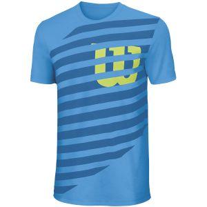 Wilson Lined W Boys' T-Shirt WRA752301