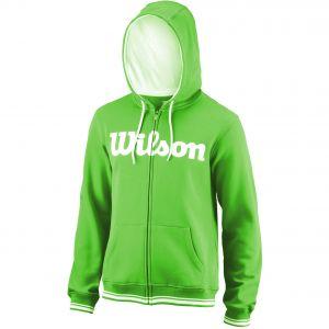 Wilson Team Script Full Zip Men's Tennis Hoodie WRA765902