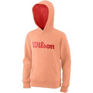 Wilson Team Script Cotton Junior Hoodie WRA769213