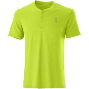 Wilson Power Smls Henley II Men's Tennis Polo WRA789103
