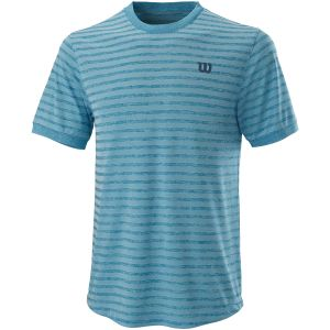 Wilson Power Stripe Crew Men's Tennis T-Shirt WRA789201