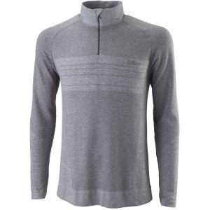 Wilson Seamless 1/4 Zip Men's Sweater  WRA789901