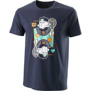 Wilson King Tech Men's Tennis T-Shirt WRA790303