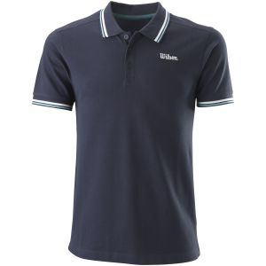 Wilson Chi Cotton Pique Slim Fit Men's Tennis Polo WRA791001