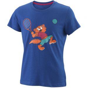 Wilson Tabby Tech Girls' Tennis T-Shirt  WRA793802